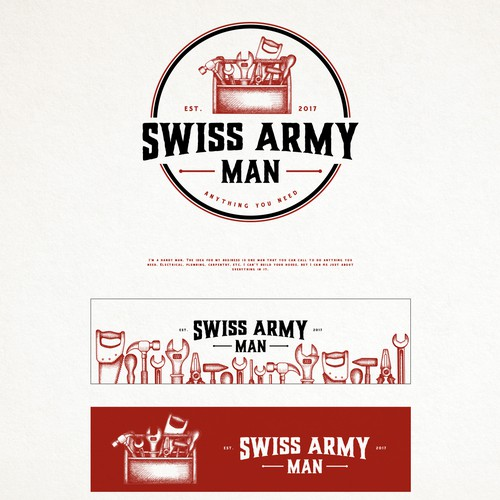 SWISS ARMY MAN LOGO PROPOSAL