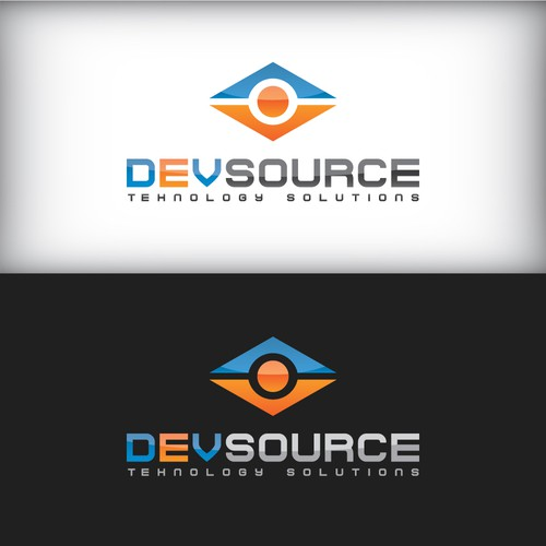 Create a fresh new design for technology company DEVsource Technology Solutions