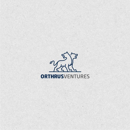 Orthrus Ventures logo design