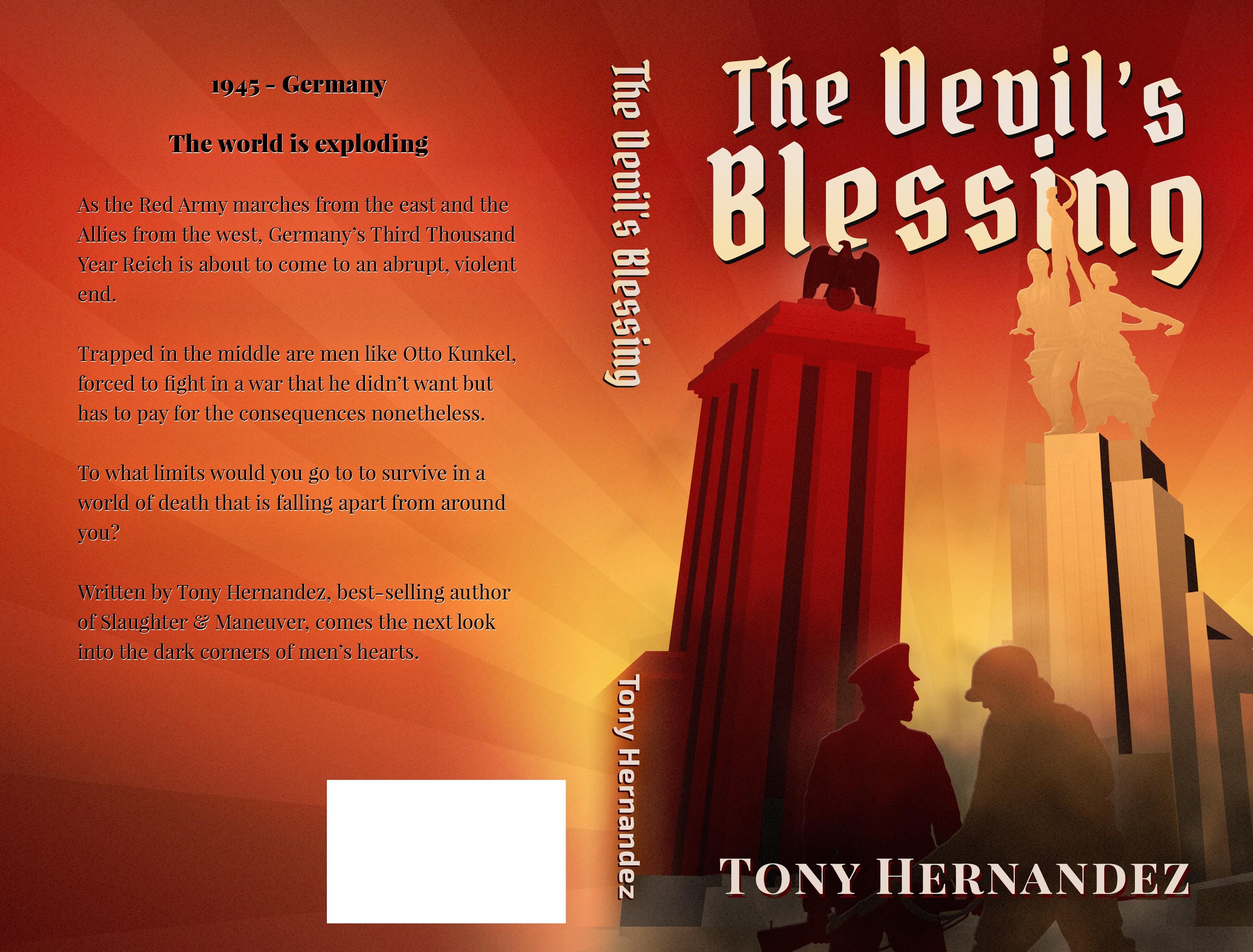 World War II Art Deco Inspired Book Cover!