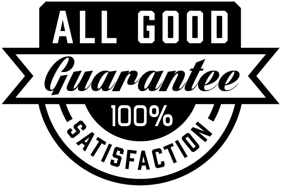 Nice On-Brand Product Gaurantee Badge