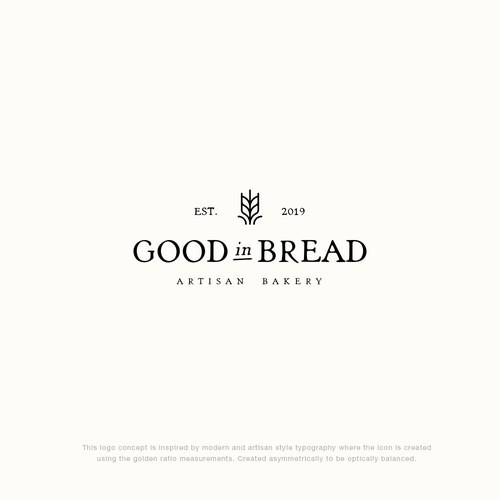 Good in Bread Logo Concept