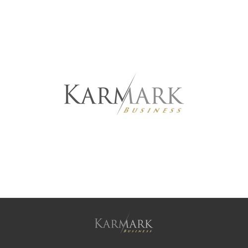 Create a catchy logo for Karmark business
