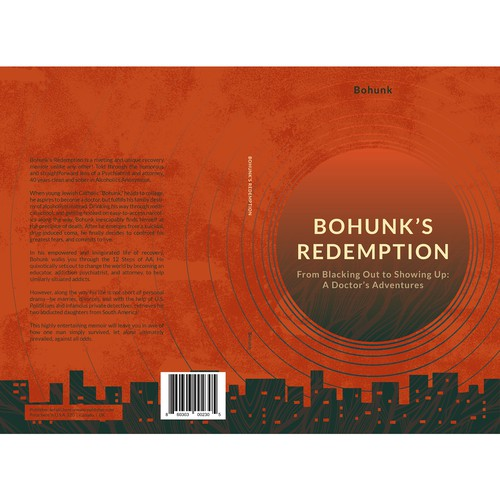 Fiction Novel Book Cover Design