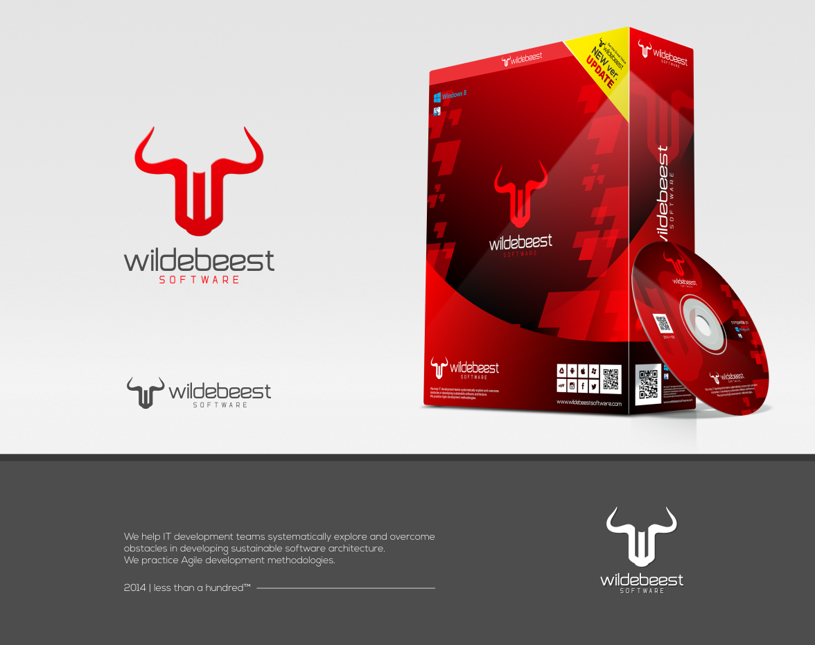 Create a logo for Wildebeest that is simple yet professional and easily identifiable.
