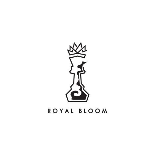 Logo design for Royal Bloom