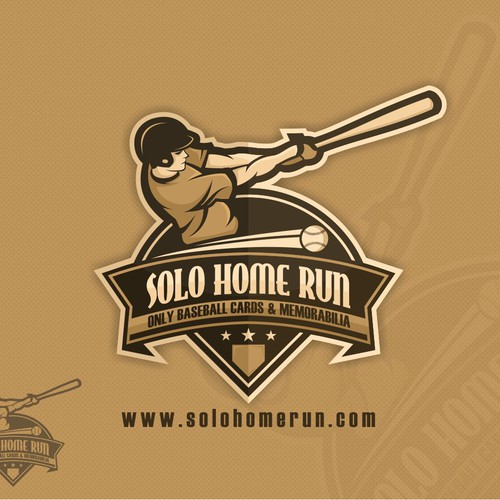 Solo Home Run Logo