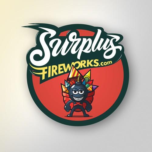 Logo  for fireworks retailer