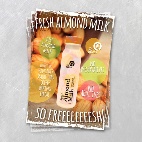Fresh Almond Milk 3
