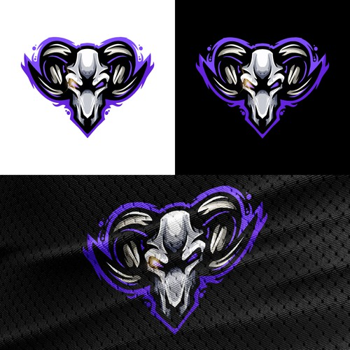 Mad Goat Logo for Esport Gaming