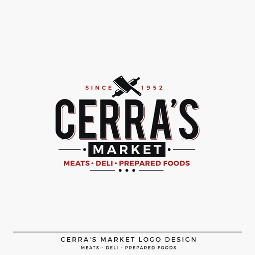 Cerra's Italian Market Logo Design