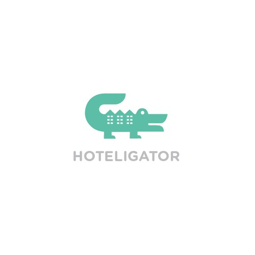 Hotels search engine logo