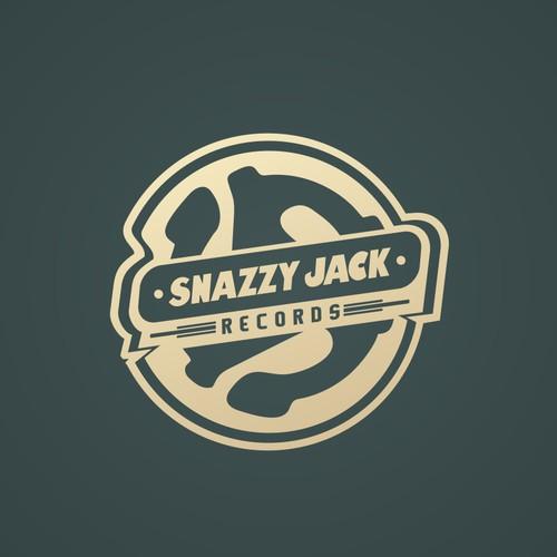 SNAZZY JACK Record Company Logo