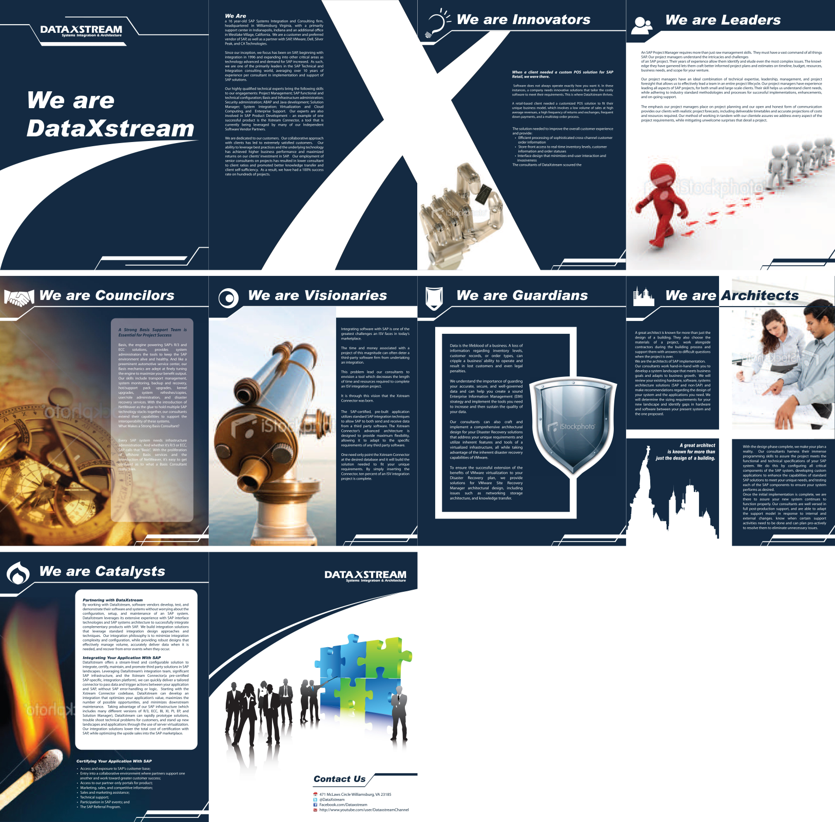New print or packaging design wanted for DataXstream