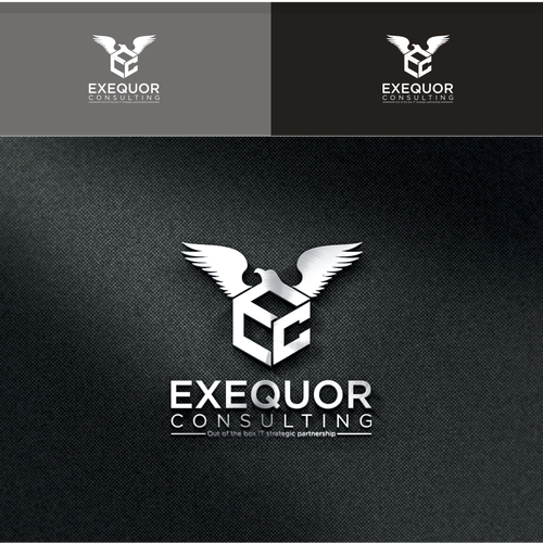 Combine innovation, executive leadership and technology all-in-one design for Exequor Consulting