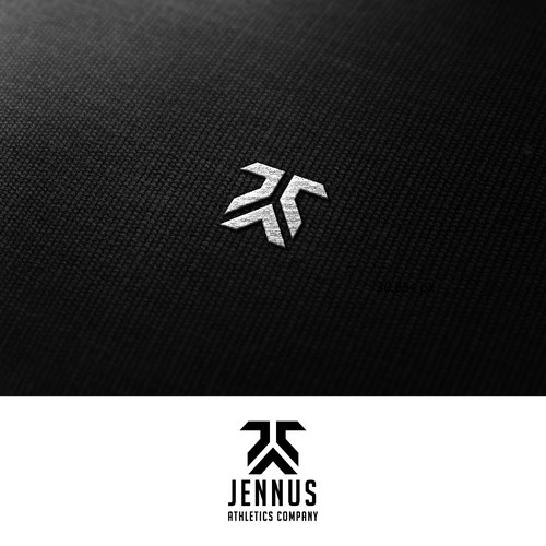 Create the next logo for Jennus Athletics Company or J.A.C