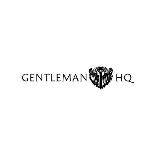 Manly and sophisticated logo.