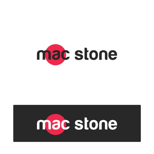 Logo for stone countertop and cabinet installation