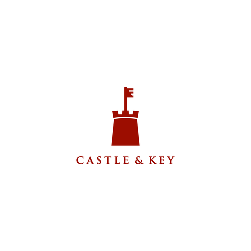 bold logo for castle & keys