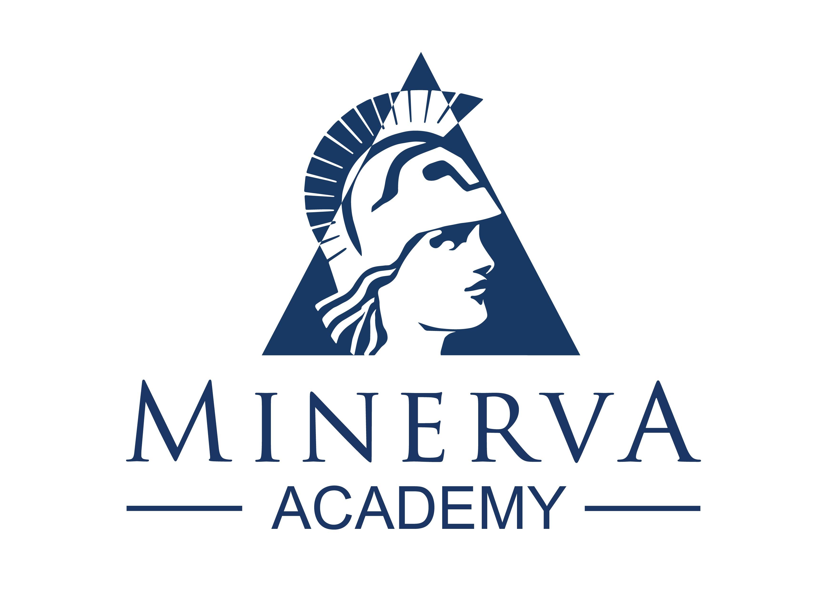 Minerva Academy Logo Design with modern concepts