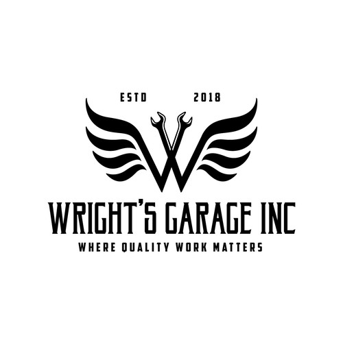 design a logo for a competitive edge in our professional automotive repair shop