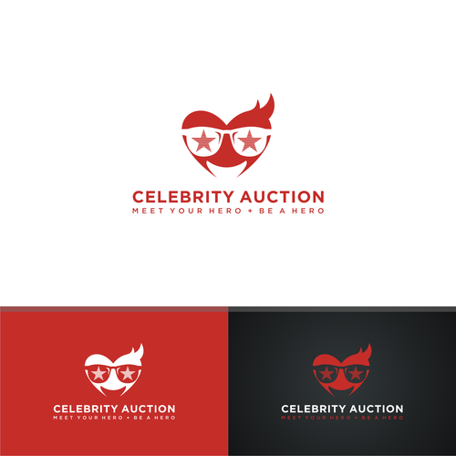 CELEBRITY AUCTION LOGO