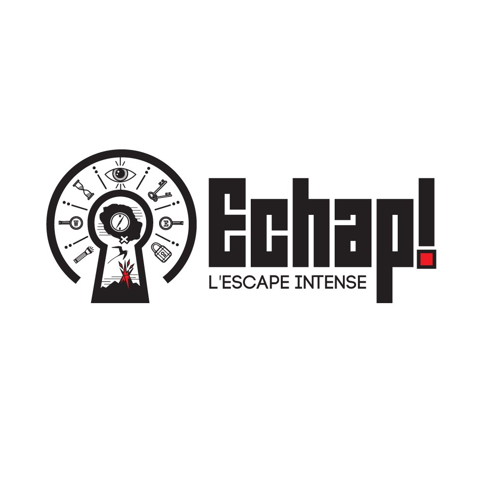 Great logo for Immersive Escape Room in a French Island