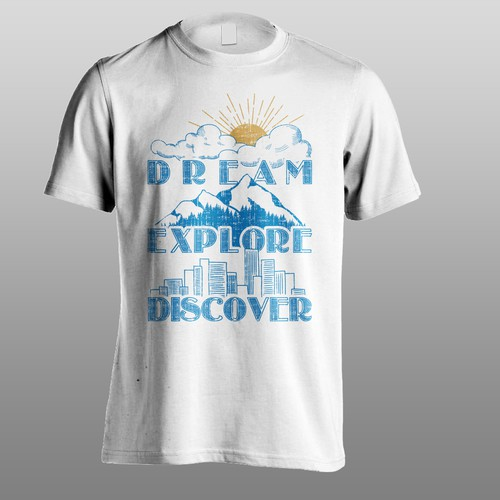 Travel company T shirt