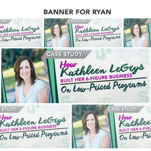 Case study: How Kathleen Degrys banner