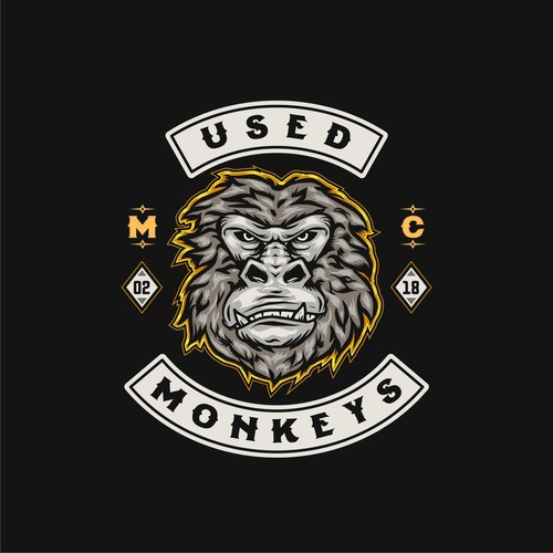 Logo design for motorcycle club in Germany.