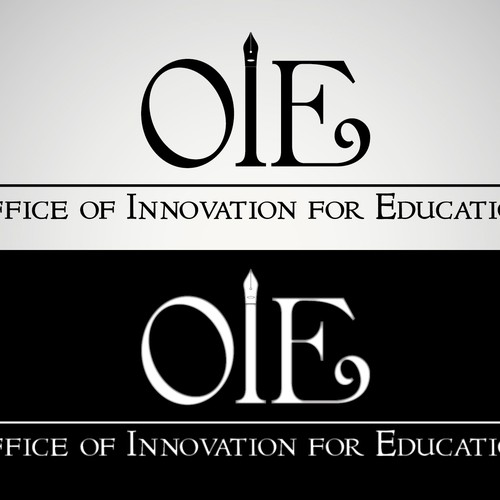 "WANTED: a creative logo for the Office of Innovation for Education with an ""out of the box"" feeling"