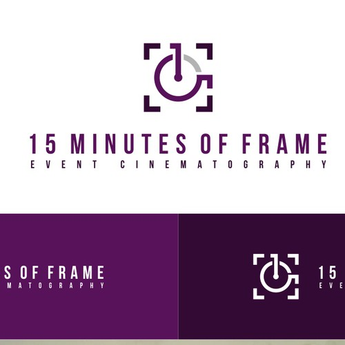 Create the right brand identity kit for an event film production company!