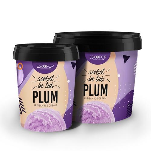 Eskopop artisan ice cream packaging