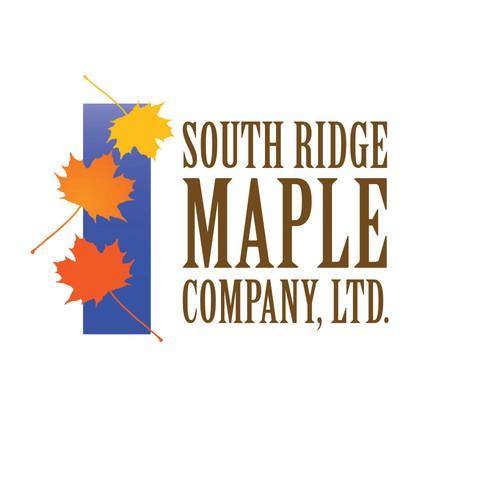 Colorful Design for a Maple Sugar Company