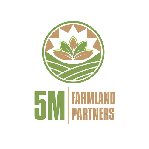 Create a logo for the largest owner of organic farmland in the United States