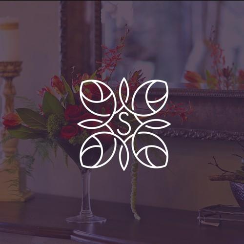 Elegant, clean logo design.