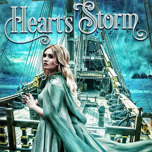 Book cover design - Hearts Storm by Talia Thorn