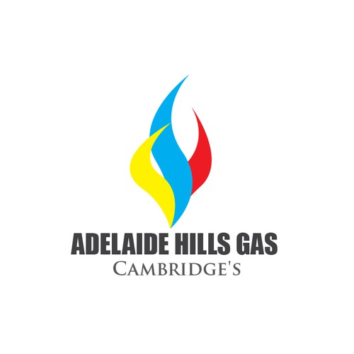 modern logo for a large gas company- Adelaide Hills Gas