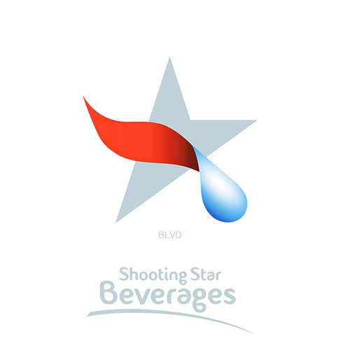 Shoot to a winning logo for Shooting Star Beverages
