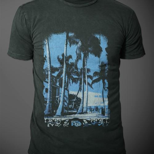 Tropical/Island t-shirt