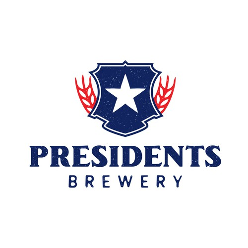 Logo for patriotic brewery