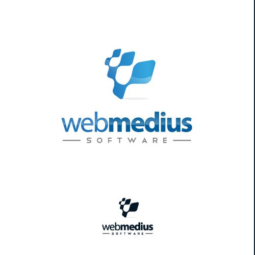 a fresh new brand needed for webmedius software inc.