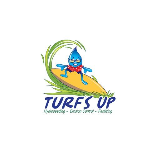 Youthful logo for landscape company.