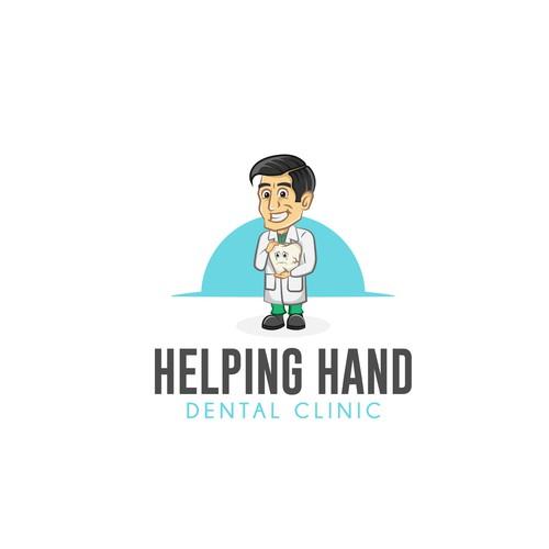"Dentist logo named ""Helping Hand"""