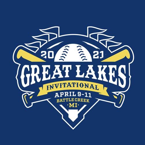 Logo for Great Lakes Baseball tournament