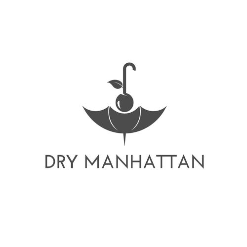 Logo concept for Dry Manhattan