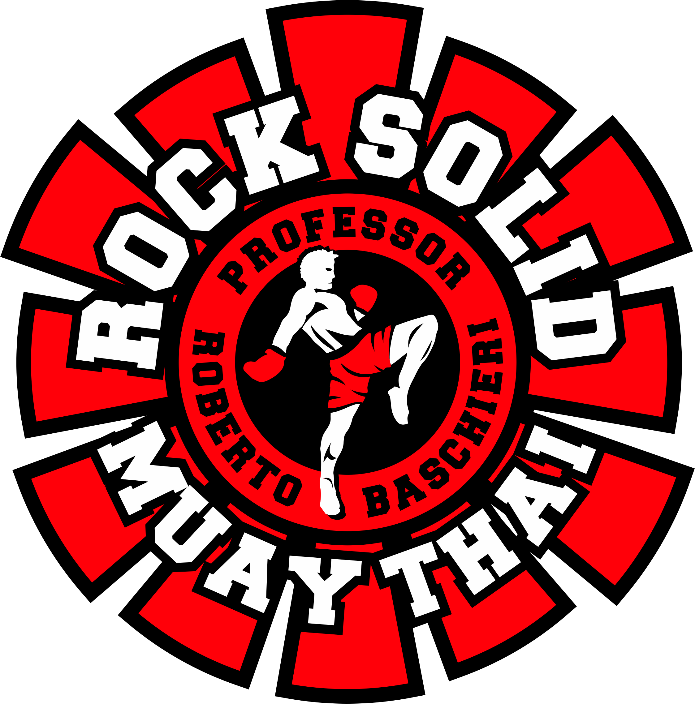 Modify Rock Solid Logo- Muay Thai