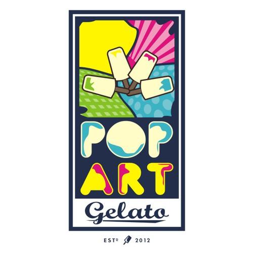 New logo wanted for Pop Art Gelato