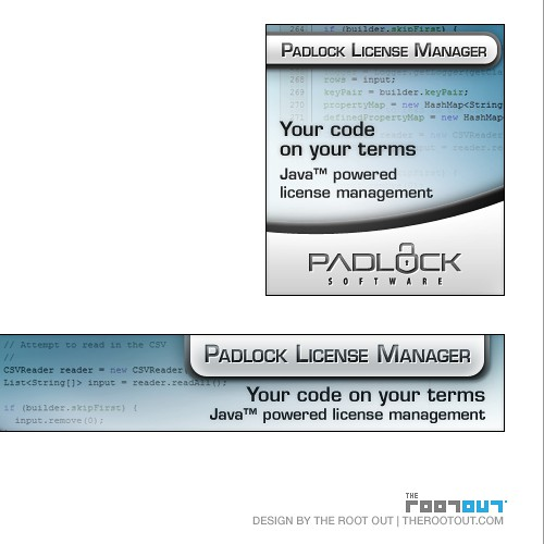 Banner ads for a Software Campaign (B2B)