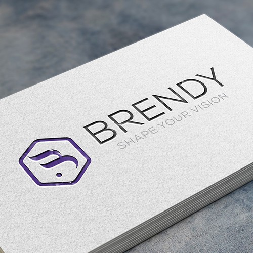 Elegant and sophisticated logo concept for consulting firm
